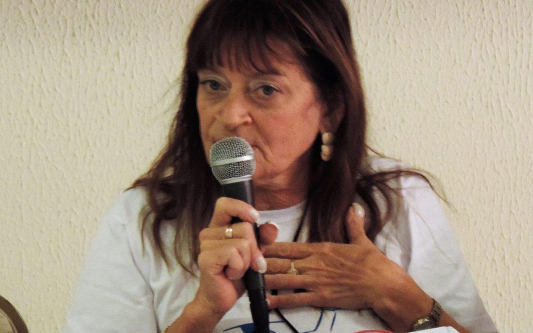 Sinpro Campos lamenta o falecimento da professora Lygia Carreteiro